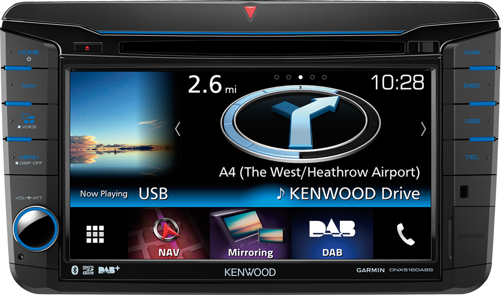KENWOOD DNX-516DABS