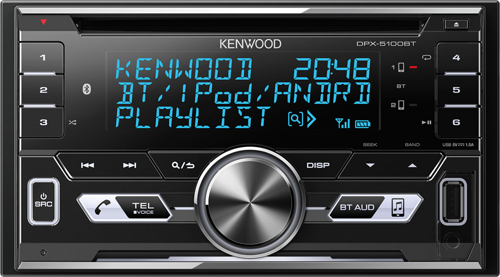 AUTORÁDIO KENWOOD DPX-5100BT S CD,USB, BLUETOOTH
