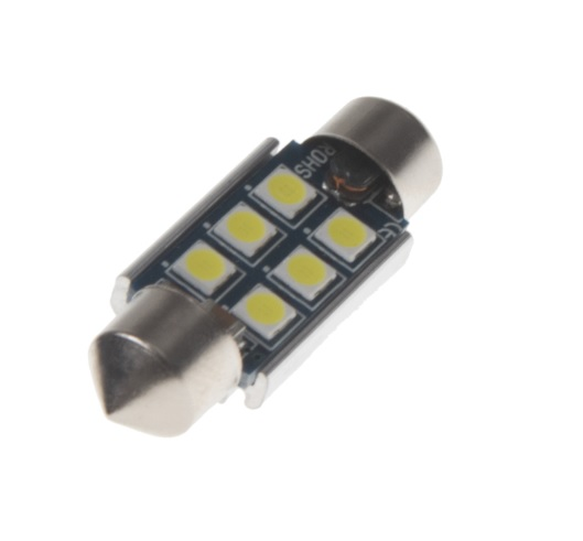 LED sufit (36mm) bílá, 12V, 6LED/3030SMD 2 KS