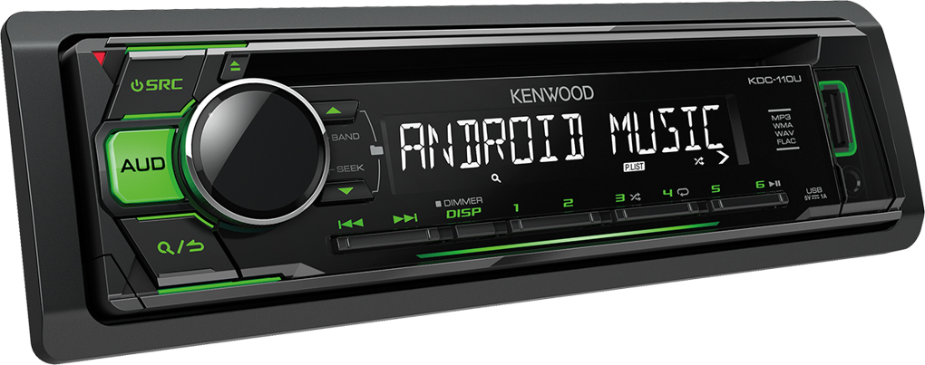 AUTORÁDIO KENWOOD KDC-110UG S CD, USB, AUX